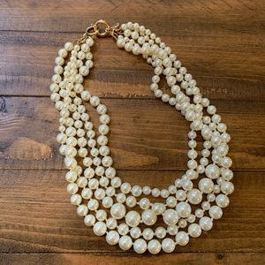JCrew Layered Pearl Necklace